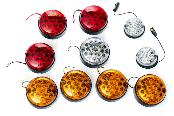 LED VEHICLE LAMP KIT DEFENDER WITH REAR FOG GUARD