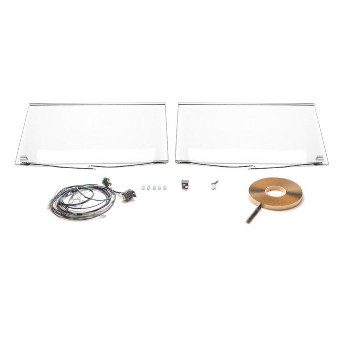 heated windscreen kit series ii iii negative earth. Black Bedroom Furniture Sets. Home Design Ideas
