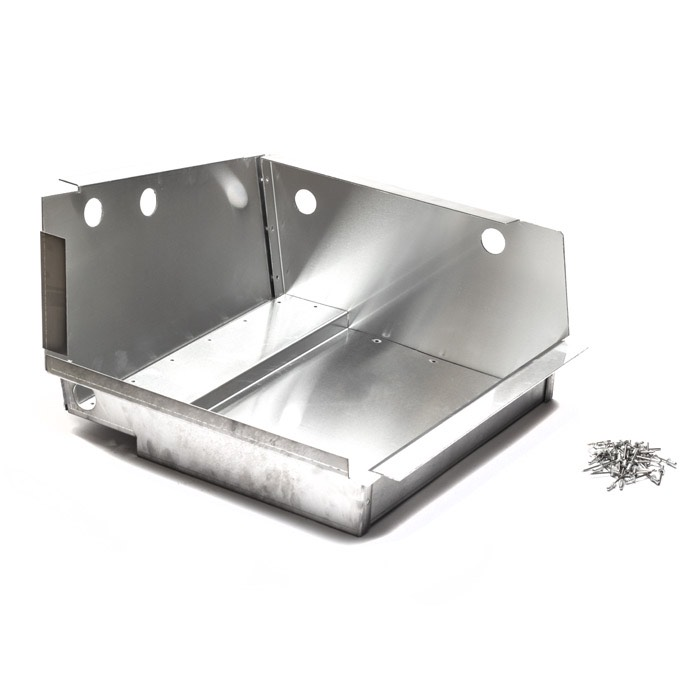 BATTERY TRAY ALUMINUM LONG