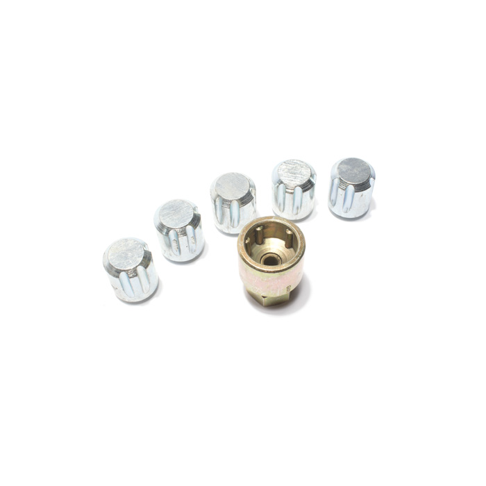 LOCKING WHEEL NUT SET - STEEL WHEELS