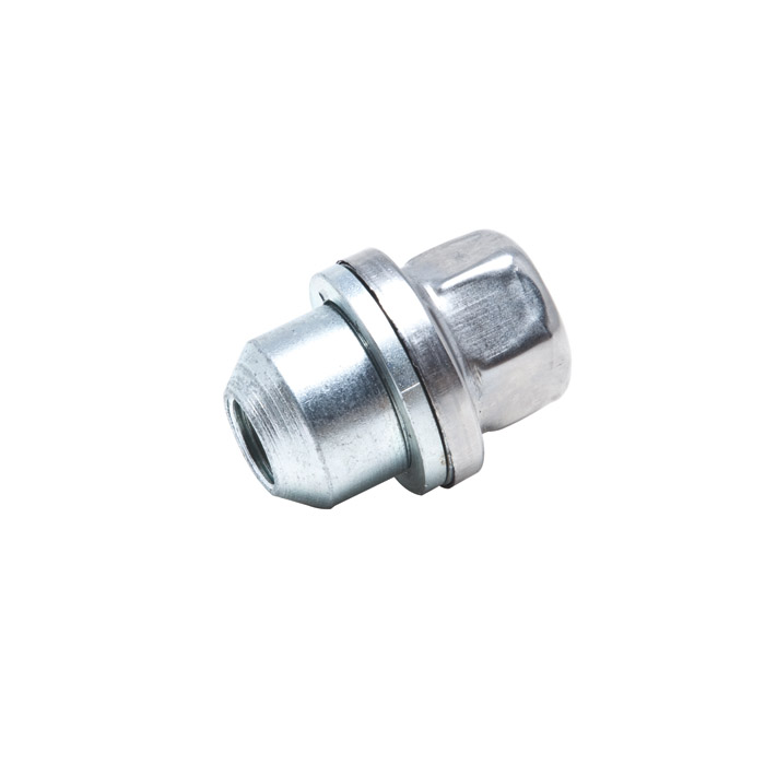 WHEEL NUT - STAINLESS CAPPED