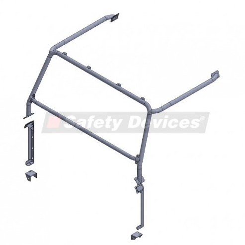 SAFETY DEVICES FULL SAFARI CAGE DEFENDER 90 HARDTOP