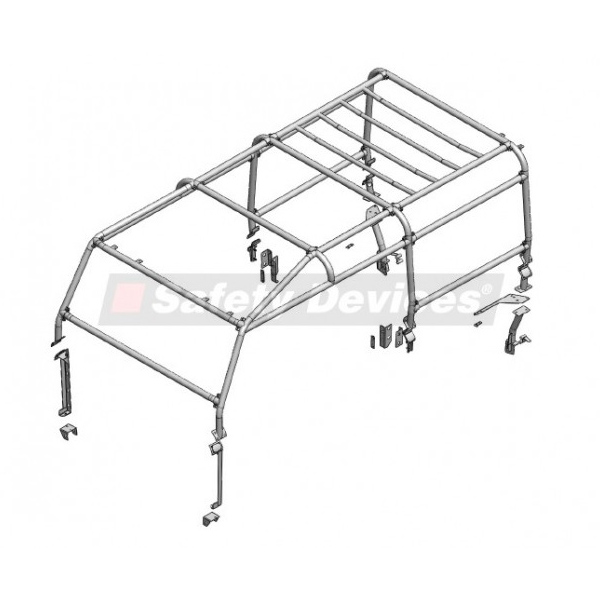 SAFETY DEVICES FULL EXT SAFARI CAGE DEFENDER 110 STATION WAGON