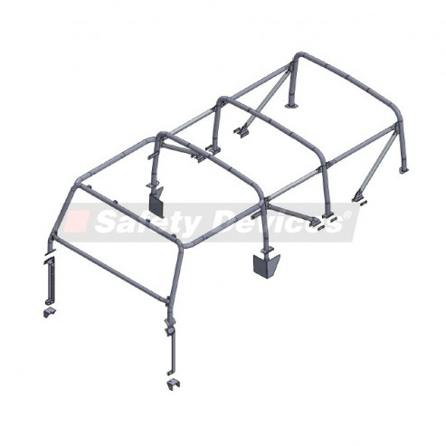SAFETY DEVICES SAFARI CAGE D110 SOFT TOP