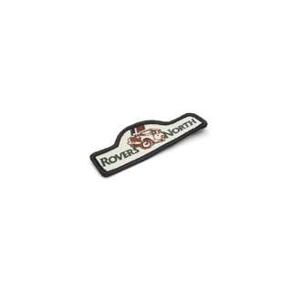 """EMBROIDERED PATCH """"ROVERS NORTH"""" 3"""" X 1-1/2"""""""