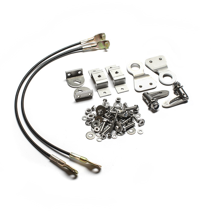 TAILGATE BRACKET & MOUNTING KIT STAINLESS STEEL SERIES & DEFENDER