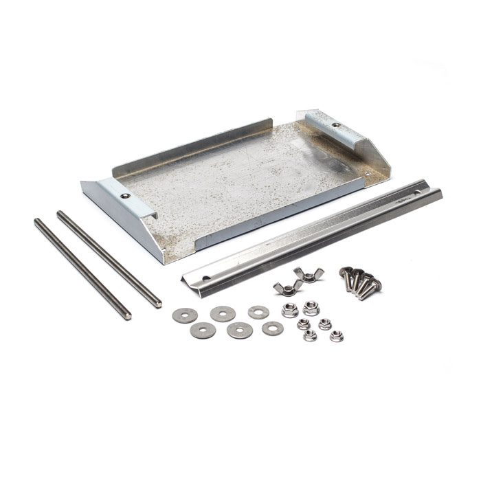 BATTERY TRAY ALUMINUM STANDARD SIZE