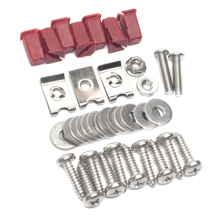 FRONT FOOTWELL FLOOR PLATE HARDWARE KIT