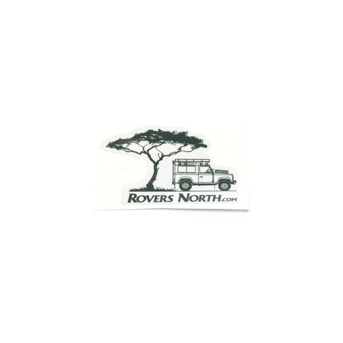 ROVERS NORTH STICKER ACACIA TREEWITH DEFENDER