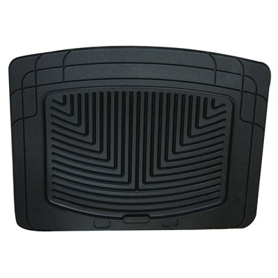 RUBBER MATS - REAR PAIR BLACK - RRC, P38A, DISCOVERY I, DEFENDER