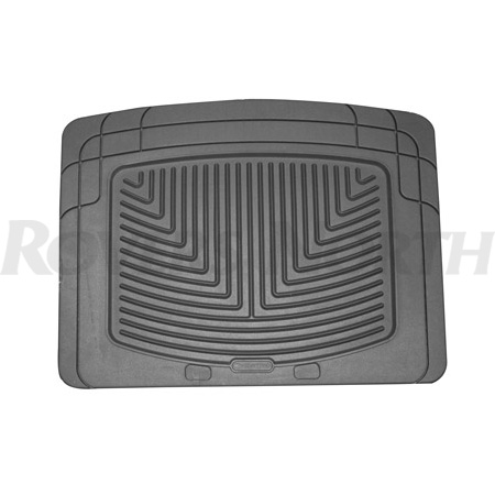 RUBBER MATS - REAR PAIR GREY - RRC, P38A, DISCOVERY I, DEFENDER