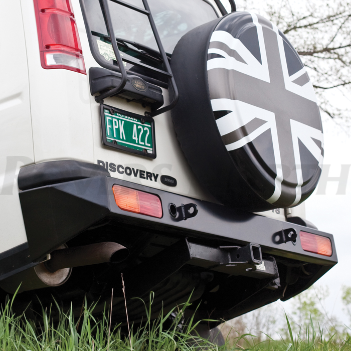 REAR HEAVY DUTY BUMPER - DISCOVERY II