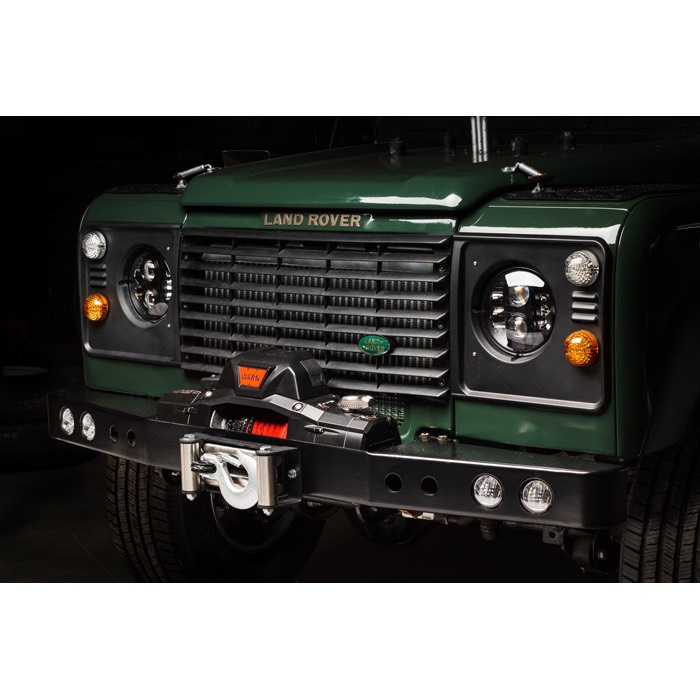 ROVERS NORTH WINCH BUMPER WITH LED LIGHTS, DEFENDER