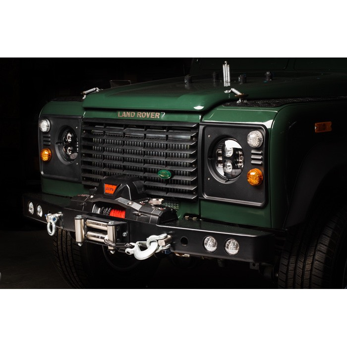 Winch Bumper With Led Lights By Rovers North For Discovery