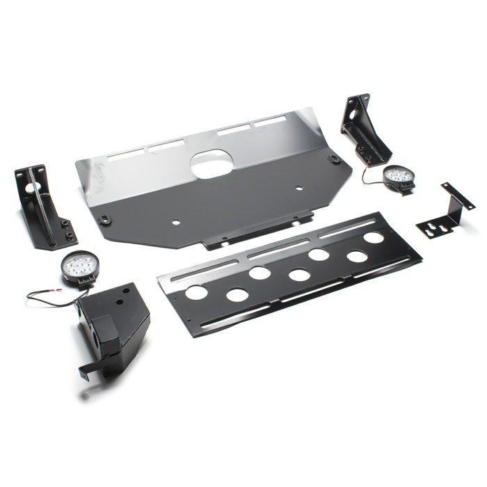 Front Winch Bumper With Skid Plate For Lr3 Rovers North