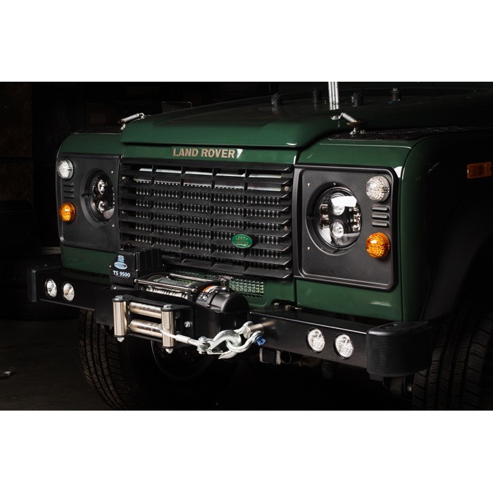 ROVERS NORTH SD WINCH BUMPER WITH LED LIGHTS, DEFENDER