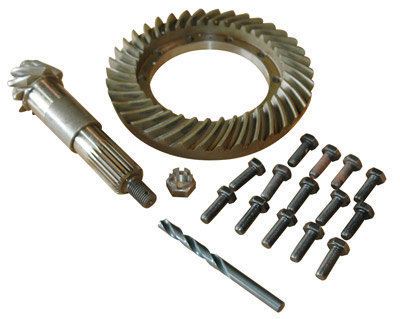 RING AND PINION SET 4.7:1 LATE DIFFERENTIAL ONLY
