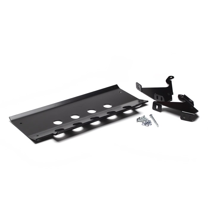 ROVERS NORTH ALLOY FRONT SKID PLATE DEFENDER BLACK