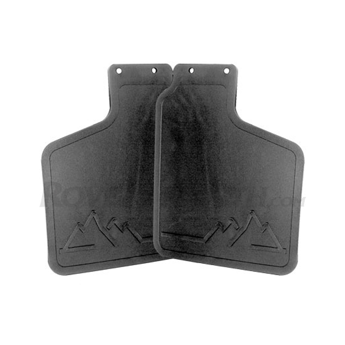 MUD FLAP KIT - FRONT DISCOVERY I - WITHOUT RUNNING BOARDS