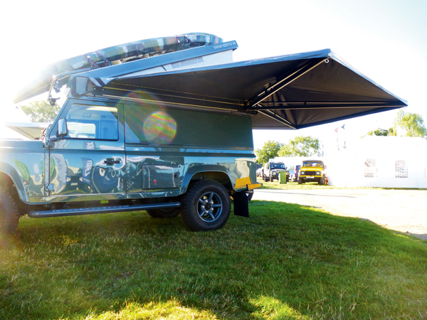 Expedition Awnwing With Cover Side Awning Rna731 Safari