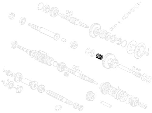 BEARING INTER SHAFT SUFFIX A- NO LONGER AVAILABLE, PLEASE CALL FOR ALTERNATIVES