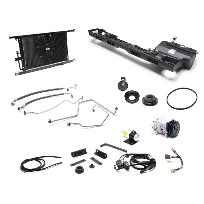 Classic Land Rover Parts: DEFENDER AIR CONDITIONING, KIT LHD 3.9 V-8 DEFENDER