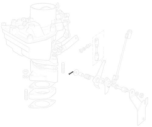 SPLIT PIN - CLEVIS ASSM - ZENITH CARB - SERIES II-NO LONGER AVAILABLE