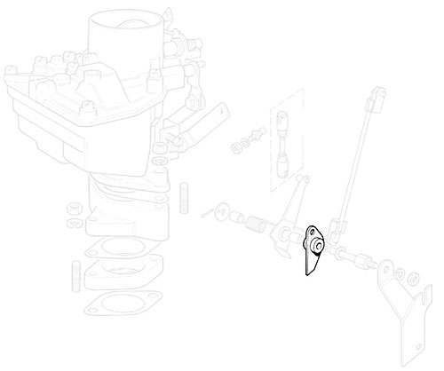 ARM - BELLCRANK ASSEMBLY - ZENITH CARB - SERIES IIA & III