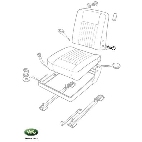BOLT - SEAT BACK-