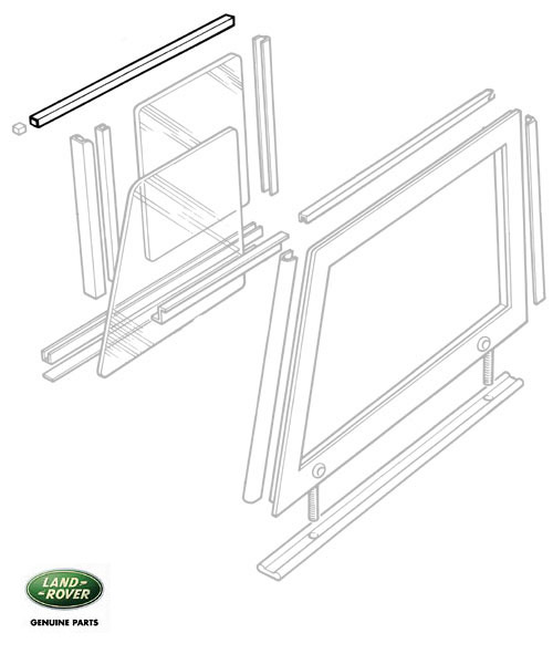 WINDOW TRACK - FRONT DOOR TOP SERIES II, IIA & III