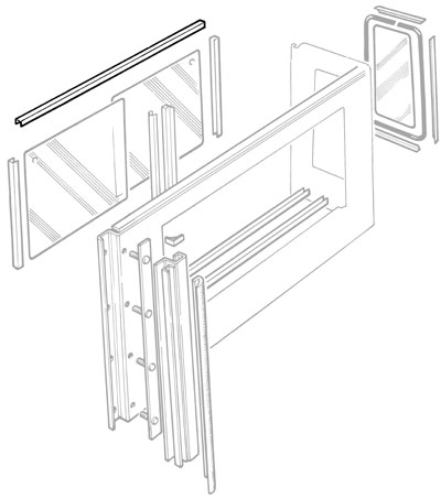 WINDOW TRACK ROOFSIDE SERIES IIA & III