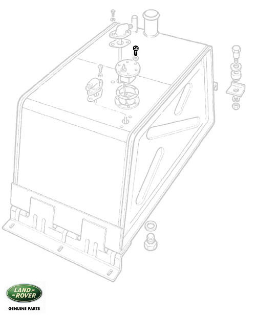 Screw Fuel Sender Unit Series Iii Iii 3890 Rnb997