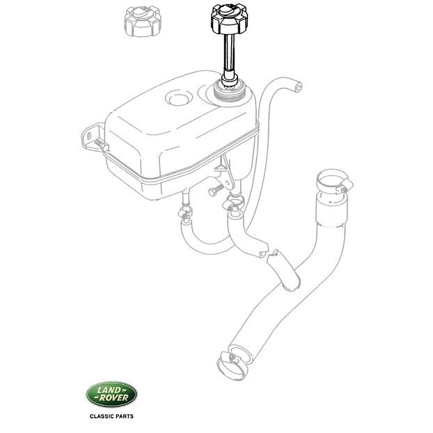 sensor low coolant level range rover  u0026 39 90  rnc027  prc7925