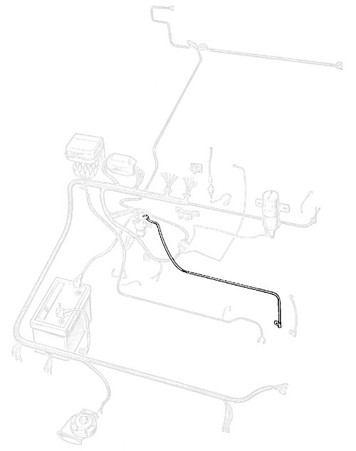 CABLE - SWITCH/ STARTER - SERIES IIA