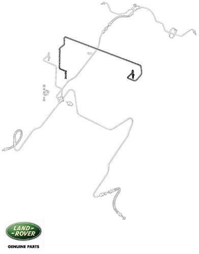 BRAKE PIPE - MSTR/JUNT S/S