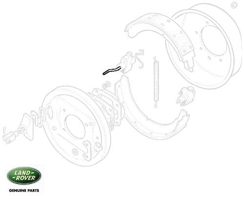 EXPANDER ROD - TRANSMISSION BRAKE - SERIES IIA & III
