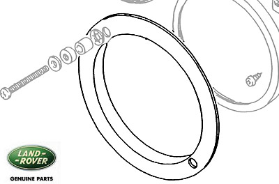 GASKET - HEADLAMP BUCKET - SERIES, DEFENDER & RRC