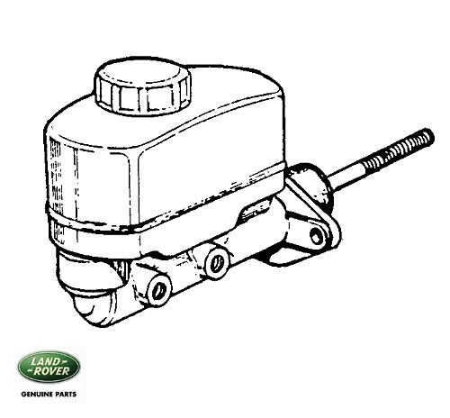 MASTER CYLINDER DUAL POWER 109