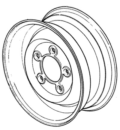 Road Wheel 6 5 X 16 2 78 Offset Rovers North
