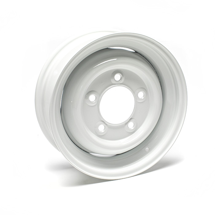 "ROAD WHEEL 5.5"" x 16"" 1 7/8"" OFFSET  ALPINE WHITE"