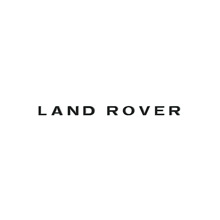 "DECAL ""LAND ROVER"" FRONT DEFENDER"