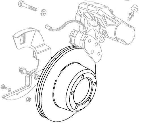 DISC ROTOR FRONT VENTED