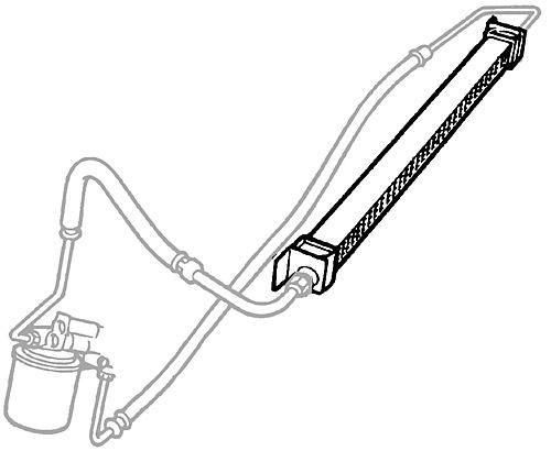 OIL COOLER - ENGINE 4.6L - P38A RANGE ROVER