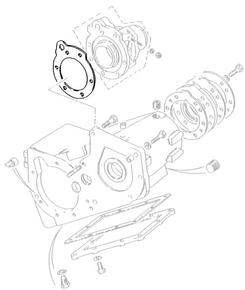 GASKET SPEEDO HOUSING-TRANSFR CASE LT230