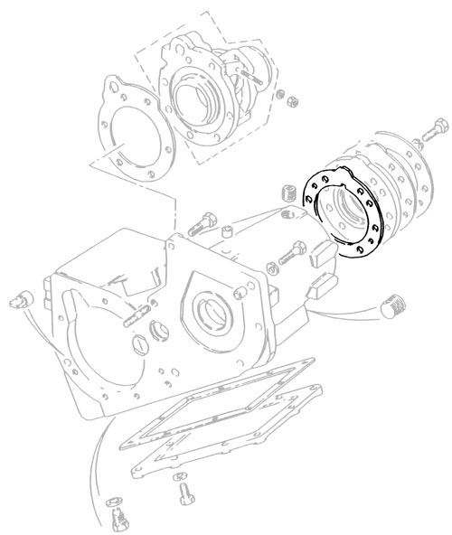 JOINT WASHER LT230 PTO COVER