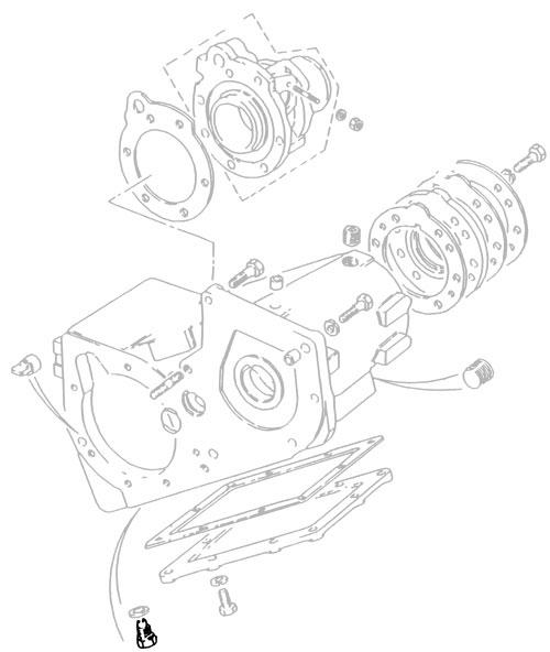 Drain Plug Magnetic Oil Pan Transfer Box 599552 Rnd458