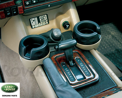 Cup Holder Kit Beige Discovery Ii Style Rnd490
