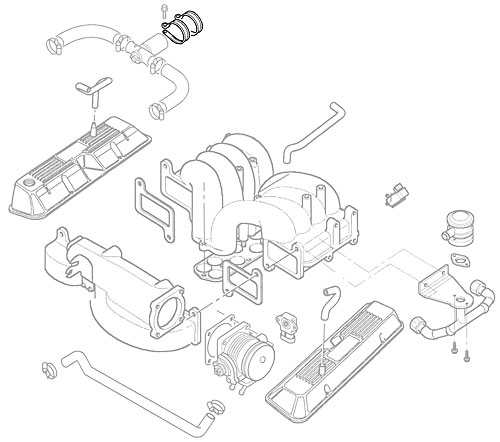 P CLIP - IDLE ACTUATOR P38A & DISCOVERY II