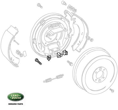 adjuster kit trans brake defender  discovery ii  u0026 range