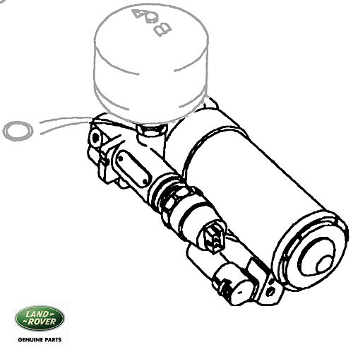 PUMP ASSEMBLY - ABS P38A